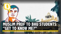 "Muslim Professor Teaching Sanskrit in BHU Asks, ""Get to Know Me Better?"""