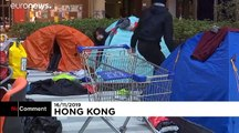 Students and protesters block Hong Kong Polytechnic University