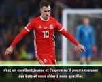 Euro 2020 - Bale se réjouit du retour de Ramsey
