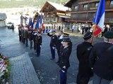 Les gendarmes du Chablais célèbrent Sainte-Geneviève à Châtel