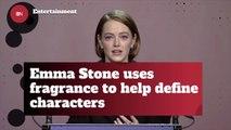 Emma Stone's Perfume Routine