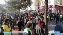 """Nantes, Toulouse, Saint-Etienne... L'anniversaire des """"gilets jaunes"""" célébré dans toute la France"""
