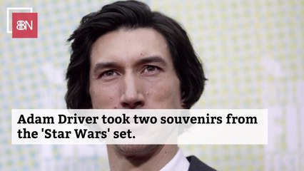 Adam Driver Has This Star Wars Item In His House