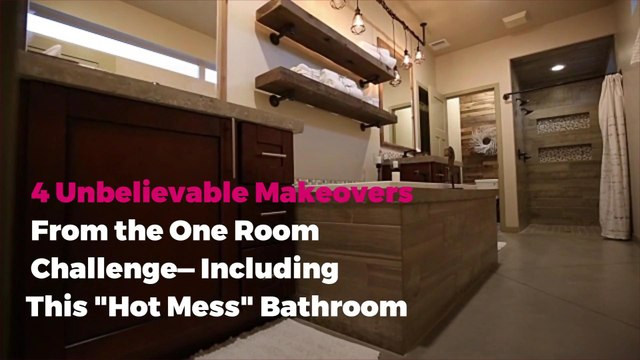 "4 Unbelievable Makeovers From the One Room Challenge—Including This ""Hot Mess"" Bathroom"