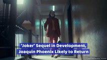 The 'Joker' Will Return