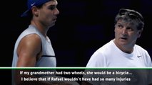 Toni Nadal can't pick a winner in GOAT debate