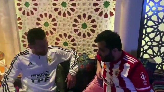 Le président d'Almeria tente de recruter Messi