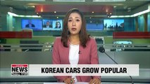 Korean cars grow in popularity amid flopping global car sales