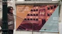 Venise : la Fenice à son tour touchée par les inondations