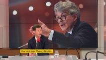 """Commission européenne : """"Nous avons considéré que Thierry Breton   était extrêmement compétent"""""""