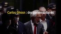 Carlos Ghosn : des parlementaires veulent qu'il soit rapatrié et jugé en France