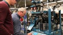 Montceau-les-Mines : visite de la Manufacture Perrin, fleuron de la chaussette Made in France