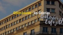 Gilets jaunes : les Galeries Lafayette un court instant occupées et fermées