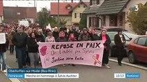 Féminicide : les habitants du village de Sylvia Auchter encore sous le choc