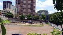 Helicóptero do Consamu pousa em Cascavel com vítima de infarto em Toledo