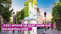 PHOTOS. Gilets jaunes : le poing levé, Nekfeu a protesté parmi les manifestants à Paris