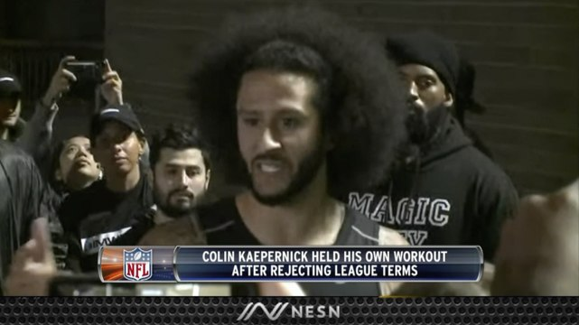 Colin Kaepernick Statement After NFL Workout