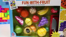 Fruit Velcro Toys by Small World Living Fun-With-Fruit Playset-