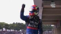 Formule 1 - Gasly fou de joie !