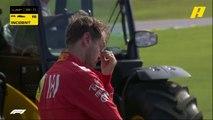 لقطة حزينة.. فيتيل في حالة صدمة بعد خروجه من السابق مع زميله لوكلير