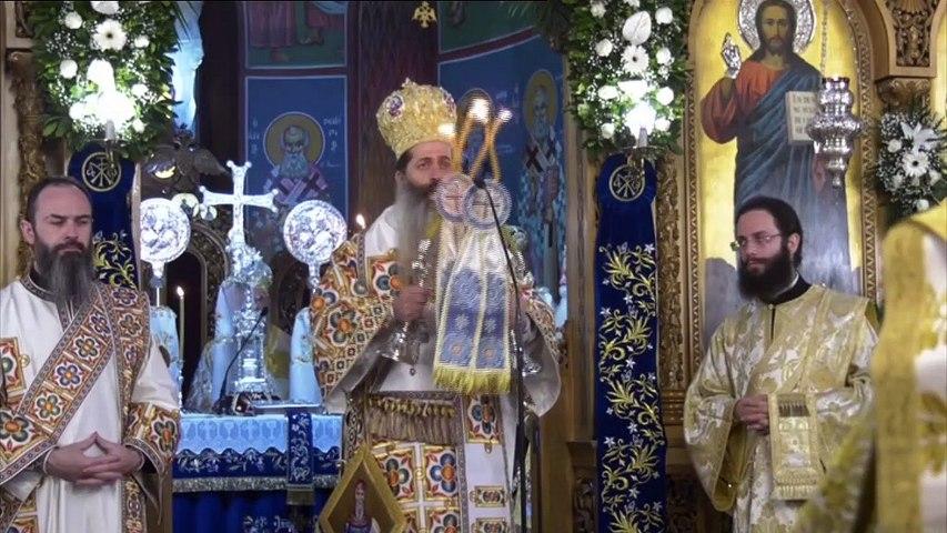 Η πρώτη Ενθρονιστήρια Θεία Λειτουργία του νέου Ποιμενάρχη της Φθιώτιδας κ.κ. Συμεών