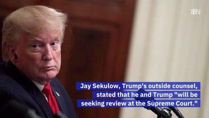 Trump's Tax Returns Can Be Subpoenaed