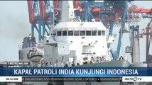 Bakamla RI Terima Kunjungan Kapal Patroli India di Pelabuhan Tanjung Priok