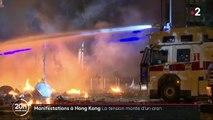 Manifestations à Hong Kong : la tension monte d'un cran