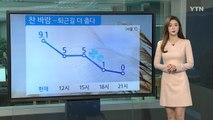 [날씨] 비 그친 뒤 찬 바람...내일 서울 -3℃ / YTN