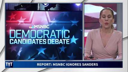 Shocking Report on MSNBC's Bias Against Bernie Sanders