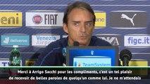 """Italie - Mancini :""""Je ne m'attendais pas à 10 victoires"""""""