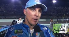 Harvick after Miami: We really needed a yellow flag