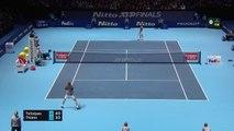 Tsitsipas edges past Thiem to claim World Tour Finals