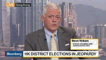 No Political Solution in Sight for Hong Kong, Says Steve Vickers and Associates CEO