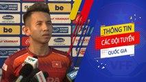 Hồng Duy nói gì trước đại chiến Việt Nam - Thái Lan tại Vòng loại World Cup 2022   VFF Channel