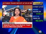 Latha Venkatesh on October trade deficit number