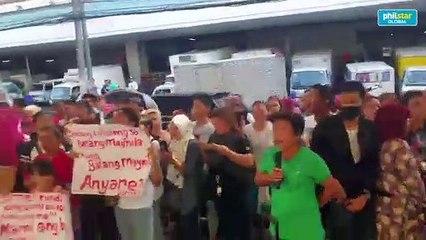 Divisoria vendors against Manila govt's clearing ops