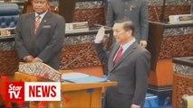 Wee Jeck Seng sworn in as Tanjung Piai MP