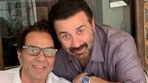 Sunny Deol shares this adorable picture with father Dharmendra,Check out | FilmiBeat