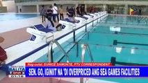 Sen. Go, iginiit na 'di overpriced ang SEA Games facilities