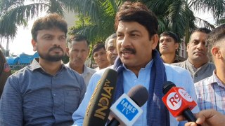 Manoj Tiwari lashes out at Arvind Kejriwal over Delhi's water quality
