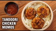 TANDOORI CHICKEN MOMOS Without Steamer | How To Make Tandoori Momos | Chicken Momos Recipe | Varun