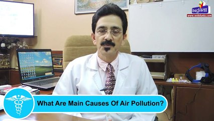 How does air pollution affect us