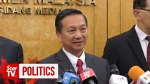 Wee Jeck Seng wastes no time on first day back in Parliament