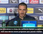 """Euro 2020 - Bonucci : """"Nous avons le potentiel pour atteindre le niveau de la France et de l'Angleterre"""""""