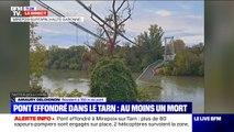"""""""On a entendu comme un gigantesque coup de tonnerre"""", explique ce résident habitant à 150m du pont"""