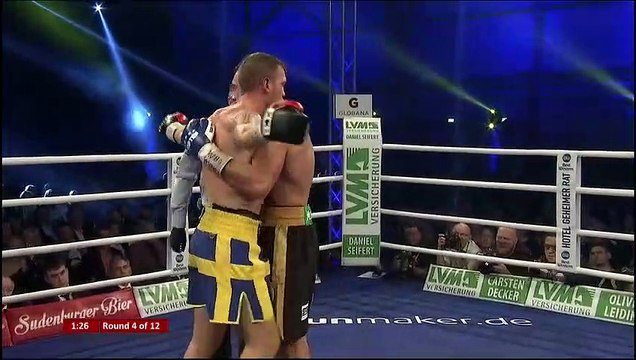Dominic Bosel Vs Sven Fornling 16 11 2019 Full Fight 848p Video Dailymotion