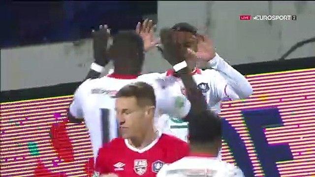 Le résumé de FC Lorient - Guingamp (3-0) 19-20 (CdF)