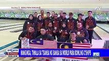Manginga, tiwala sa tsansa ng bansa sa World Para Bowling Championships