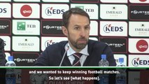 If England finished second we'd be getting pelters! - Southgate